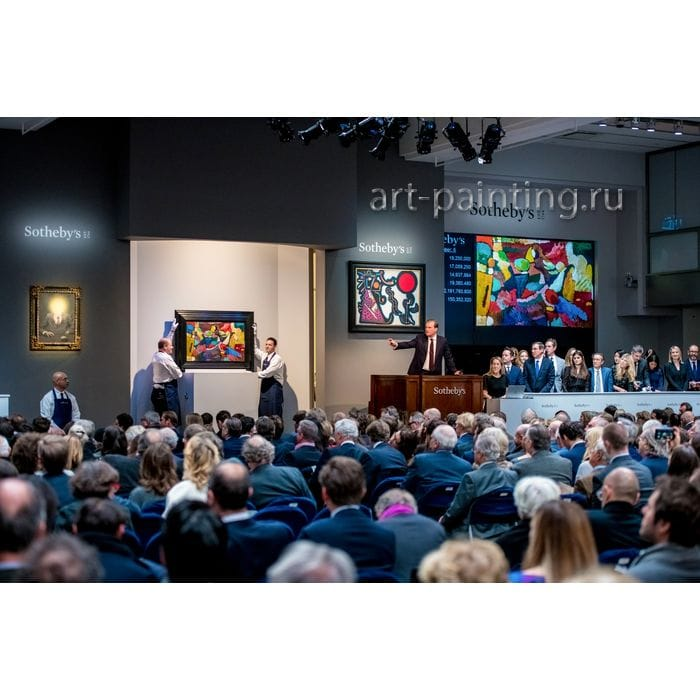 Формула любви к искусству, продажа картин