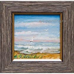 """Картина маслом """"Попутный ветер"""" Мифтахов"""