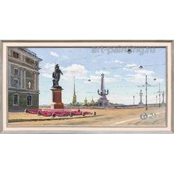 "Картина маслом ""Июнь"" Опритова"