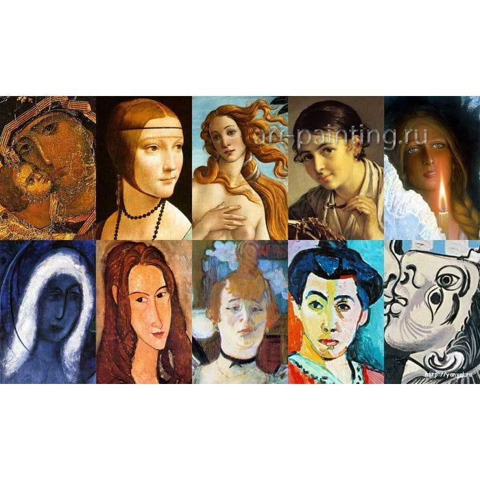 Классификация развития живописи. Галерея живописи.