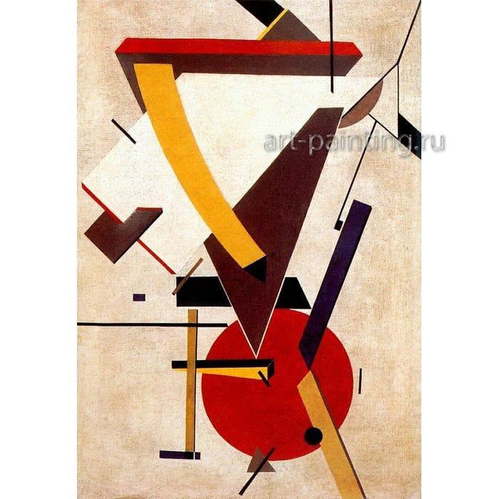 Конструктивизм в живописи - картинная галерея