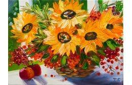 Осенний дождь, яркие цветы, сочные краски - новое поступление октября.