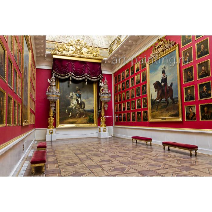 Создание Военной галереи 1812 в Зимнем Дворце
