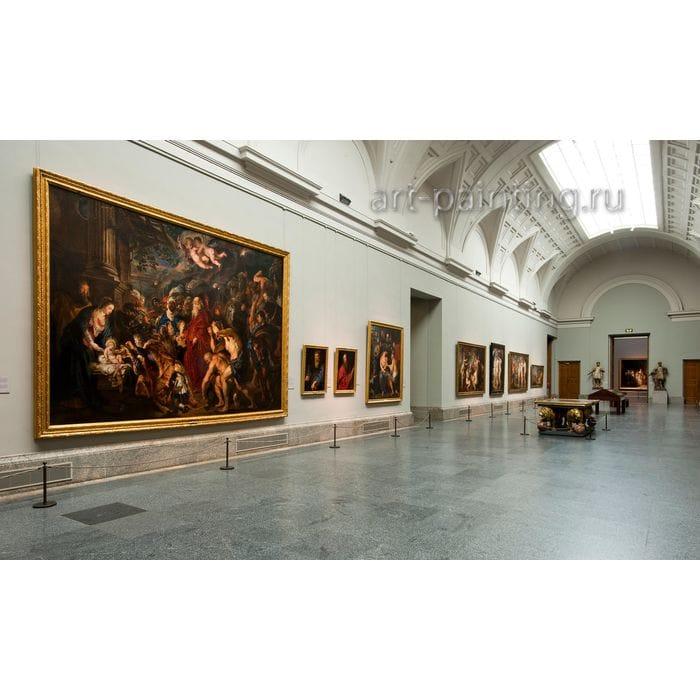 Картинная галерея в музее Прадо