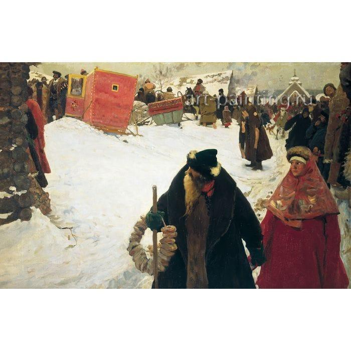 Становление русской живописи